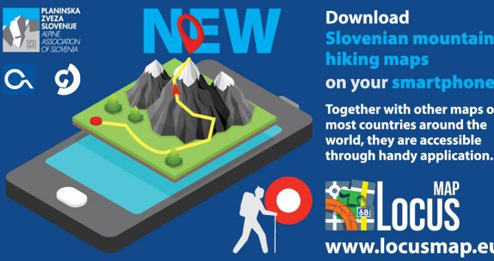 Hiking Maps By Slovenian Alpine Association On Your Smartphone Bmu